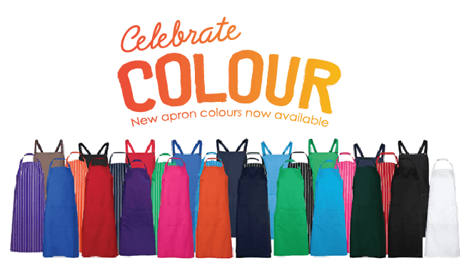 Celebrate Apron Colours