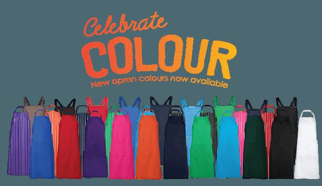 Celebrate Apron Colours
