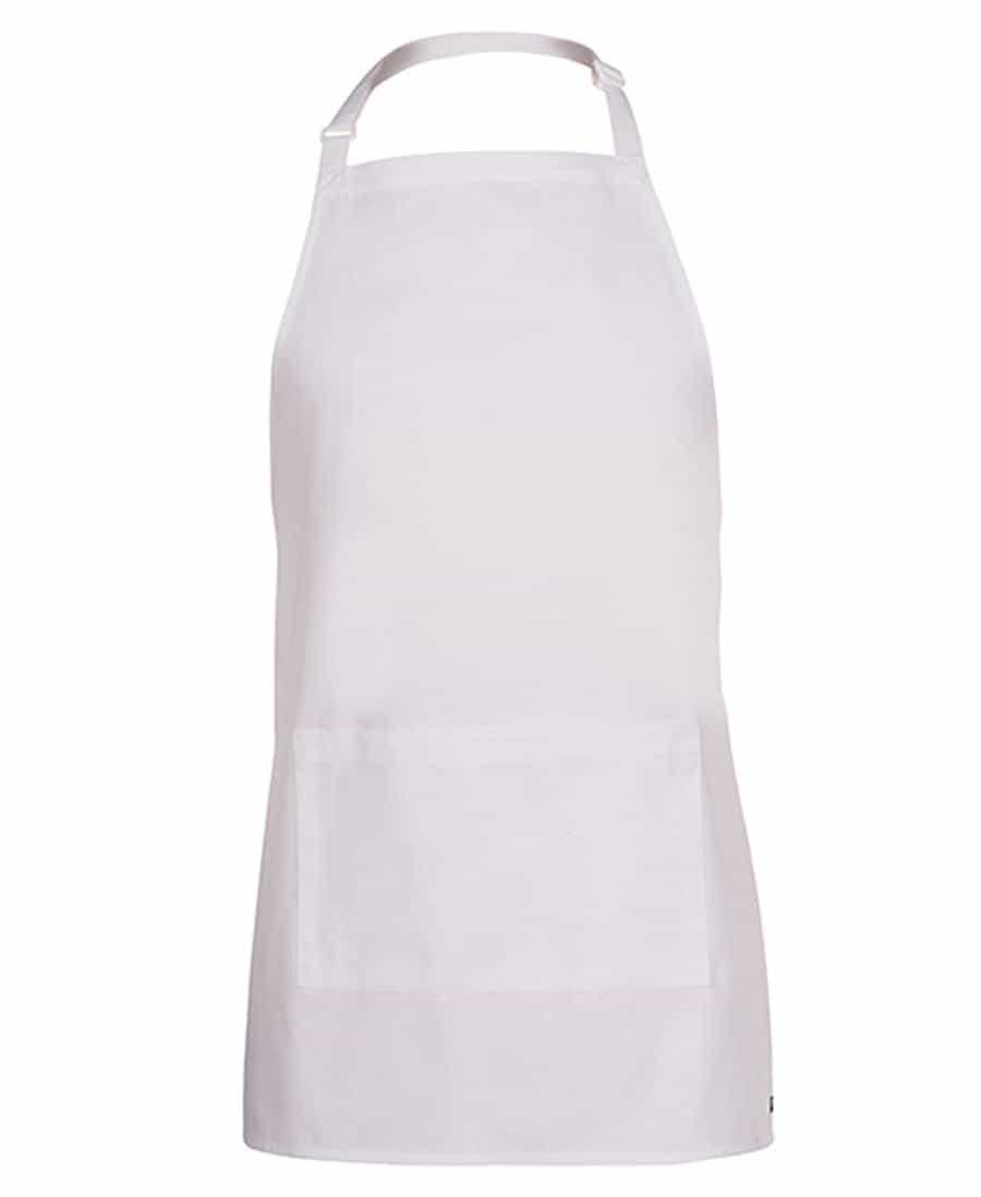 Childrens Apron White
