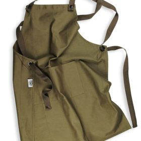 Cotton Supply Co Army Green Apron