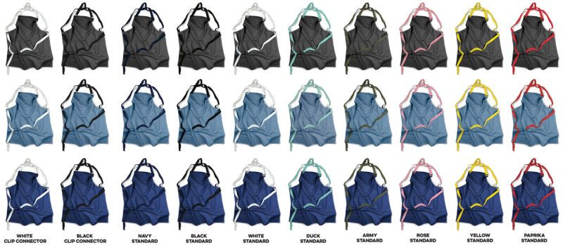 Denim Apron Strap Colours cotton supply co nz